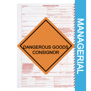 Dangerous Goods Consignor Managerial Course